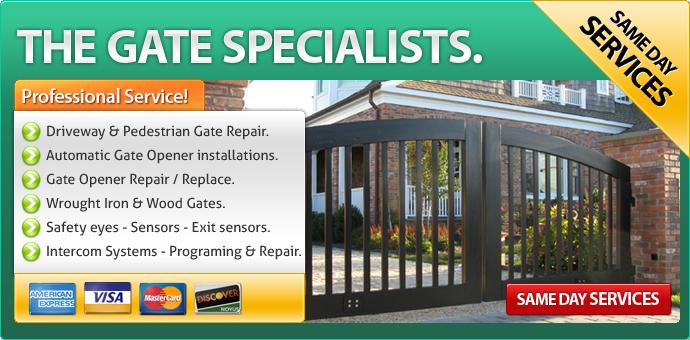 Gate repair Newbury Park CA